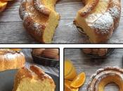 Gâteau l'orange blanc d'œuf