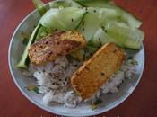 Tofu grillé gingembre