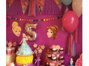 decoration anniversaire princesse disney