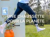 """Label Chaussette lance collection chaussettes recyclées """"made France"""""""