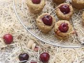 Mini-moelleux pistache-cerise