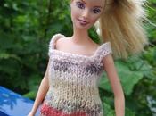 Tricoter débardeur ample short pour Barbie
