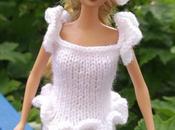 Tricoter robe mariée pour Barbie