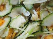 Salade courgette fenouil l'orange Courgette Fennel with Orange Salad