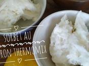 Sorbet citron thermomix