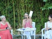 Laurence Creton Myriam Saligari reçues dans jardins d'Elan [vidéo]