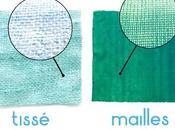 Utiliser même patron couture avec étoffes tissées mailles
