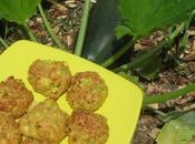 Croquettes courgette