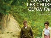CHOSES QU'ON DIT, FAIT d'Emmanuel Mouret Cinéma Septembre