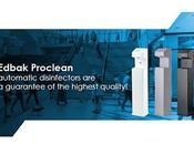 Edbak Proclean distributeurs hydroalcoolique piles secteur