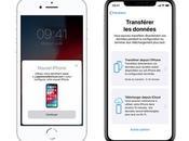 Comment transférer données d'un ancien iPhone vers nouvel