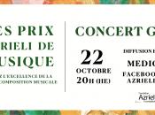 Concert Gala Prix Azrieli musique 2020 avec Krisztina Szabó Sharon Azrieli, Bohème ligne l'Opéra Montréal… récital soprano Carole-Ann Roussel