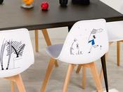 Faites entrer chaises d'artiste dans votre intérieur