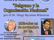Venado Tuerto propose conférence association avec l'INB l'affiche]