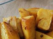 Pommes terre rôties épices indiennes
