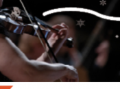 Noëls baroques Violons Roy, Temps Fêtes lumineux avec l'Orchestre symphonique Montréal Noël Quartom l'OSQ