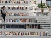 livres plafond, bibliothèque rêve Chine