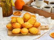 Madeleines l'orange