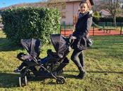 balade avec bébés dans poussette Graco Stadium