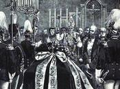 Beisetzung Leiche Kronprinzen Rudolf funérailles prince héritier Rodolphe dans crypte Capucins