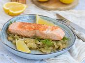 Pavé saumon compotée fenouil