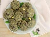 Biscuits menthe-pistache-chocolat