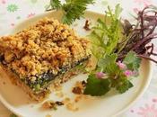 Carrés croustillants orties (Vegan)