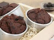 Muffins chocolat cerises amarena