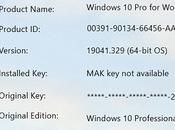 recherche licences Windows