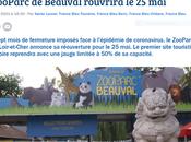 Beauval réouverture attendue 2021