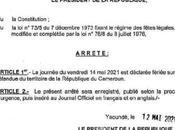 Cameroun Paul BIYA déclare jeudi vendredi fériés chômés