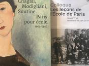 Colloque leçons l'Ecole Paris colloque -une exposition -Chagall-Modigliani-Soutine pour école(1905-1940°