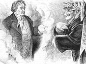 Bayreuth 1876 Karikatur /dans caricature Beethoven /chez Richard Wagner