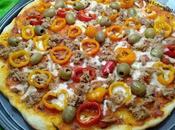 Pizza mince thin pizza fina بيزا رقيقة