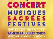 Concerts (samedi juillet jours suivants)