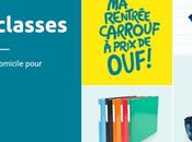 Préparer rentrée scolaire avec Carrefour