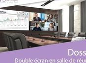 avantages double écran dans salles réunion