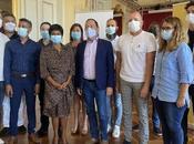 Réunion avec acteurs lutte contre VIH/sida maire Saint-Denis