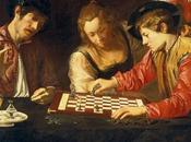 tableau Caravage joueurs d'échecs revisité passionnés