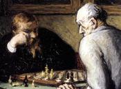 Joueurs d'échecs d'Honoré Daumier (1863)