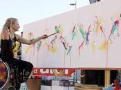 Priscille Déborah, artiste peintre 1ère femme bionique