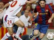 Football Ligue Champions L'Olympique Lyonnais contre l'ogre catalan, Barcelone.