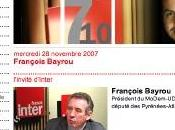 "François Bayrou France Inter ""rebâtir politique France"""