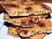 Biscuits l'avoine flocons riz, façon cookie