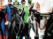 Justice League America Green casting
