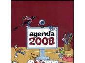L'agenda Fluide Glacial Bureau 2008 c'est accompagner chaque jour d'humour!